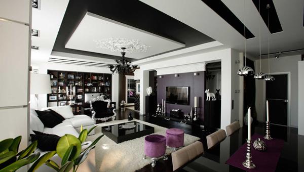 Мебель для гостиной в современном стиле (фьюжн) - 2