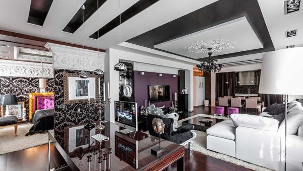Мебель для гостиной в современном стиле (фьюжн) - 4