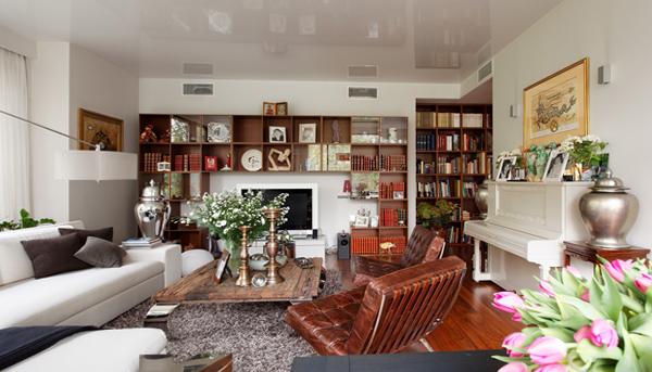 Мебель для гостиной в современном стиле (фьюжн) – 5