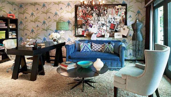 Гостиная в современном стиле (мебель фьюжн) – 1