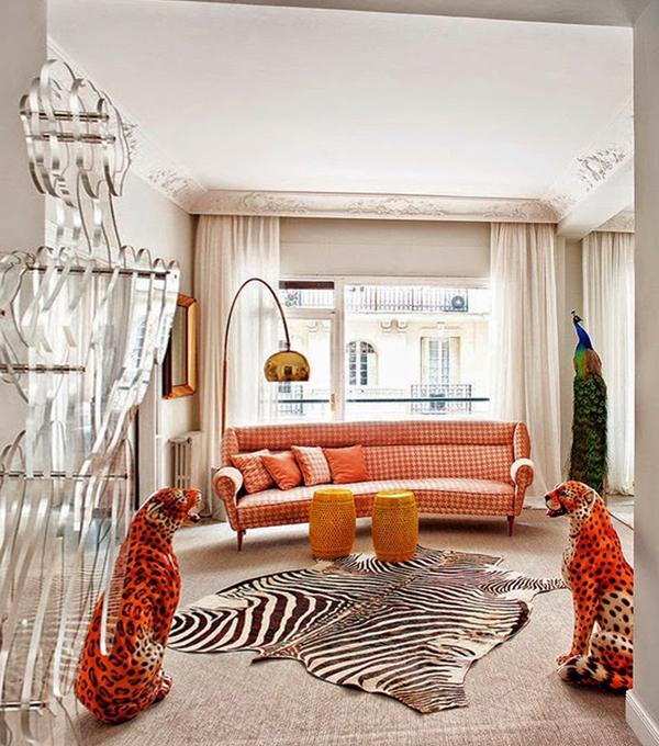 Гостиная в современном стиле (мебель фьюжн) – 4