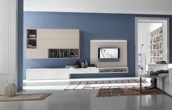 Мебель для гостиной в современном стиле (хай-тек) – 1