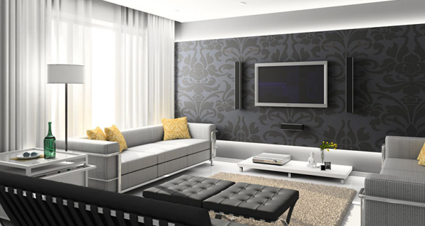 Мебель для гостиной в современном стиле (хай-тек) - 2