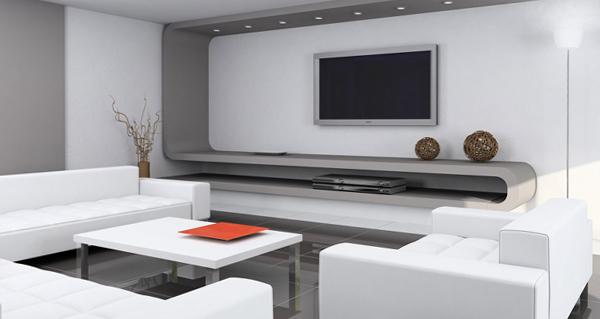 Мебель для гостиной в современном стиле (хай-тек) - 3