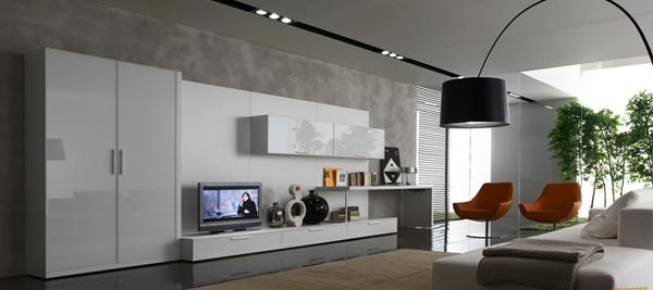 Мебель для гостиной в современном стиле (хай-тек) - 4
