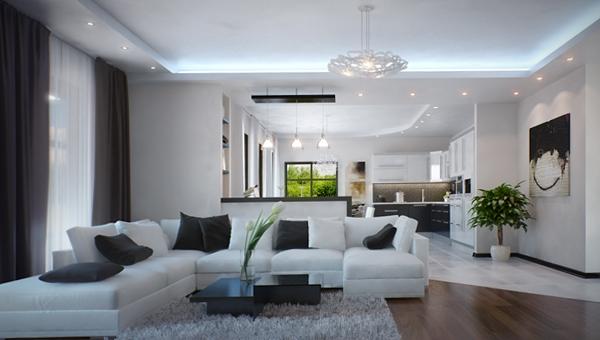 Мебель для гостиной в современном стиле (минимализм) - 3