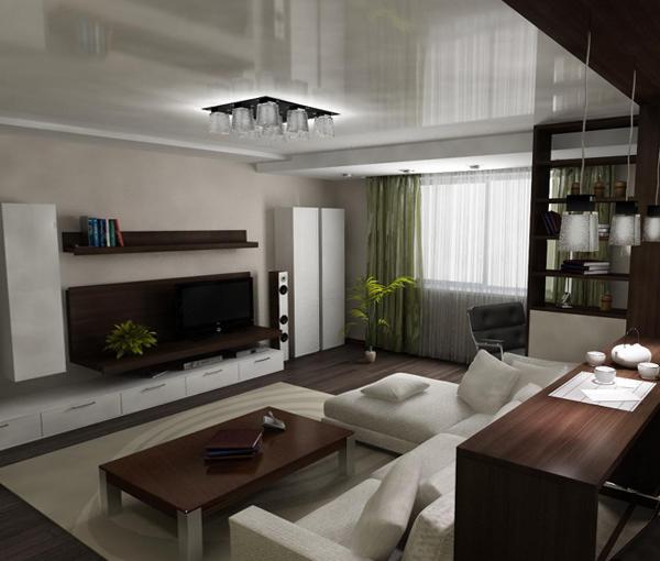 Мебель для гостиной в современном стиле (минимализм) – 5