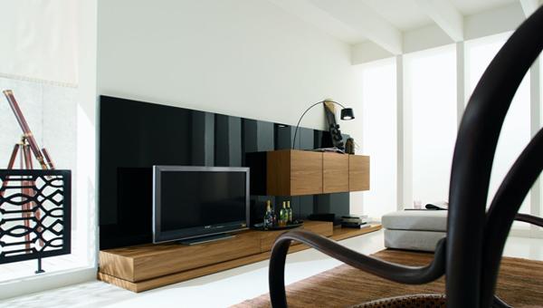 Гостиная в современном стиле (мебель минимализм) - 5