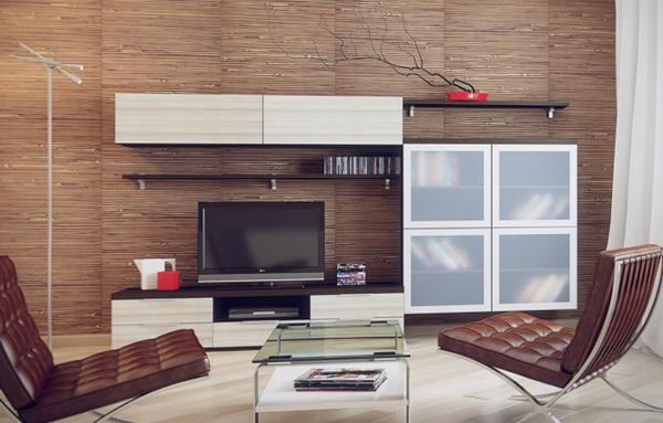Гостиная в современном стиле (мебель модерн) – 2