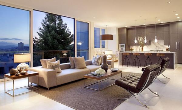 Гостиная в современном стиле (мебель модерн) – 3