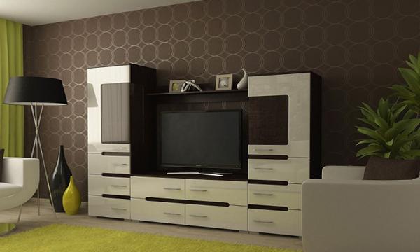 Мебель для гостиной в современном стиле (техно) – 1