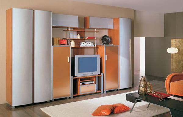 Мебель для гостиной в современном стиле (техно) - 2