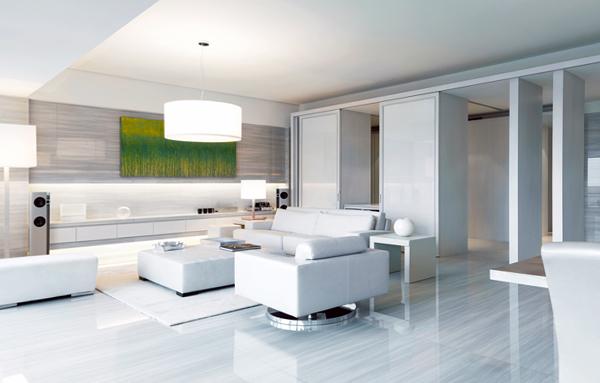 Мебель для гостиной в современном стиле (техно) - 3