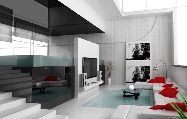 Мебель для гостиной в современном стиле (техно) – 5