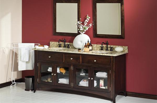 Мебель для ванной из дерева - 1