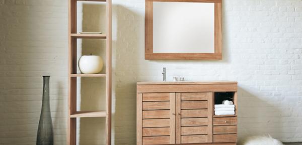 Мебель для ванной из дерева - 4