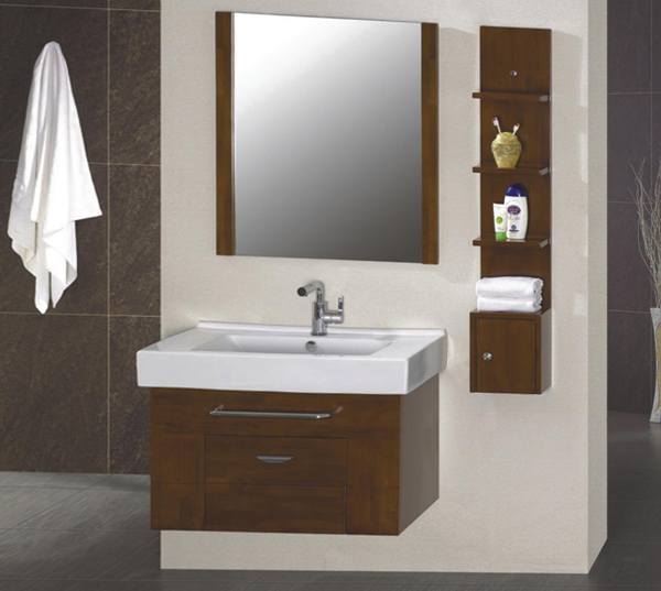 Wooden bathroom furniture - 5
