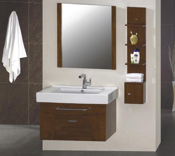 Мебель для ванной из дерева - 5