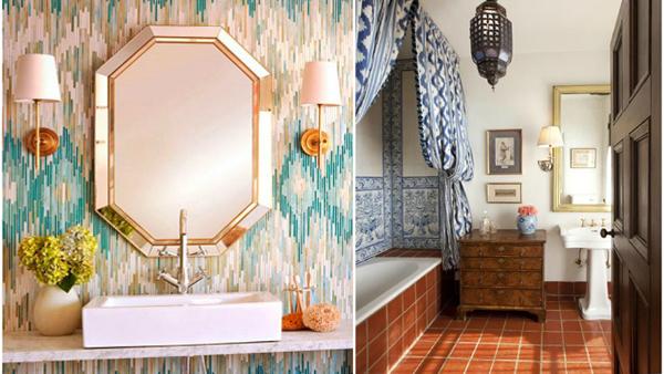 Этническая мебель для ванной комнаты - 2