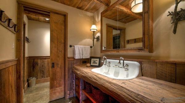 Мебель для ванной в стиле этника - 1