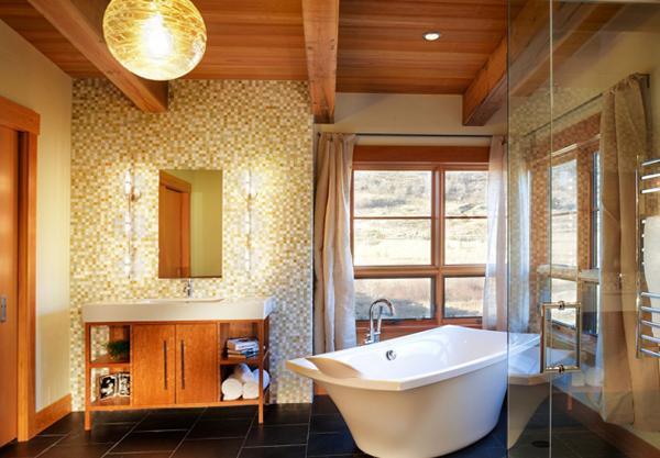 Мебель для ванной в стиле этника - 3