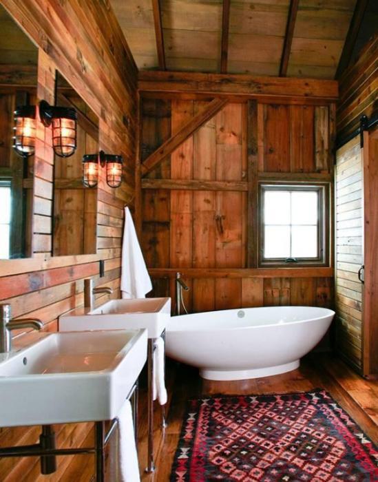 Мебель для ванной в стиле этника - 4