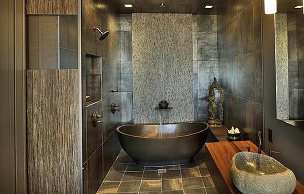 Мебель для ванной в стиле этника - 5