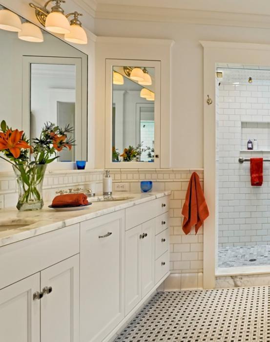 Фьюжн мебель для ванной комнаты - 2