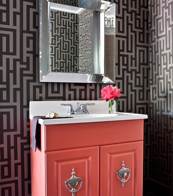 Фьюжн мебель для ванной комнаты - 3