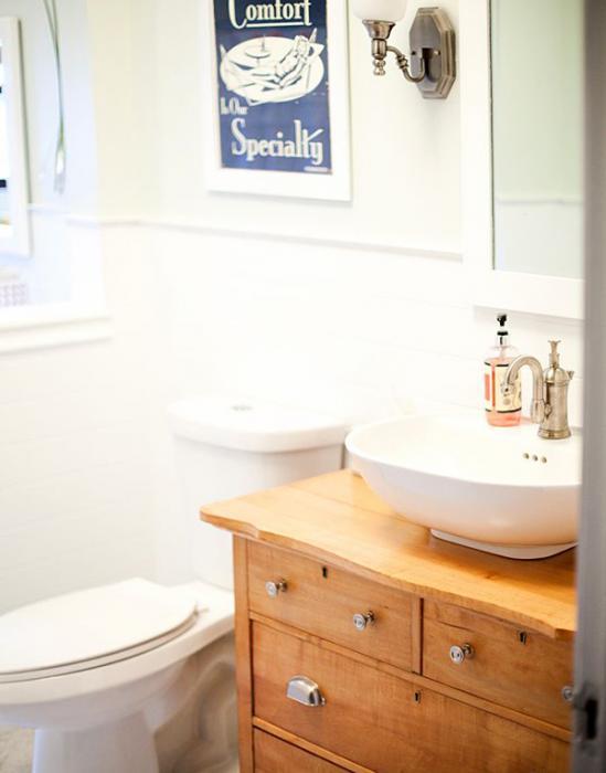 Фьюжн мебель для ванной комнаты - 5