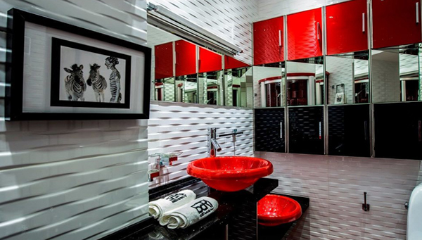 Мебель для ванной в стиле фьюжн - 1