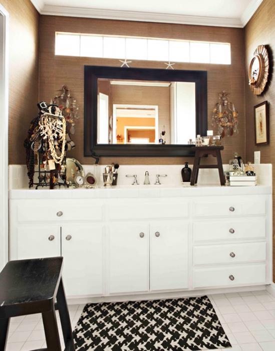 Мебель для ванной в стиле фьюжн - 2