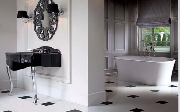 Мебель для ванной в стиле фьюжн - 4
