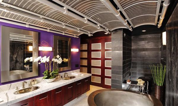 Мебель для ванной в стиле фьюжн - 5