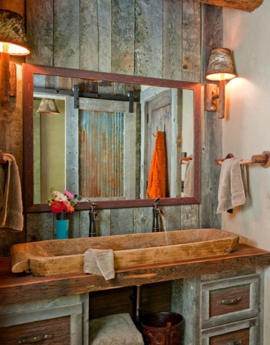 Кантри мебель для ванной комнаты - 1