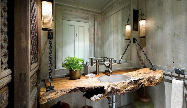 Кантри мебель для ванной комнаты - 2