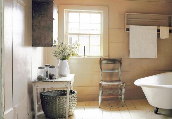 Мебельдля ванной комнаты в стиле кантри - 2