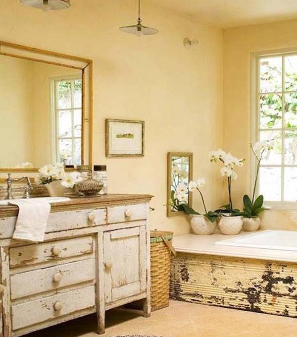 Мебельдля ванной комнаты в стиле кантри - 3