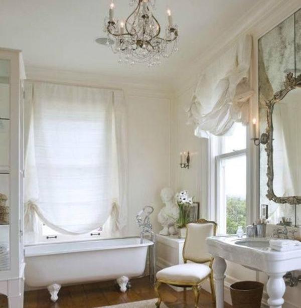 Классическая мебель в ванной комнате - 1