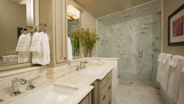 Классическая мебель в ванной комнате - 2