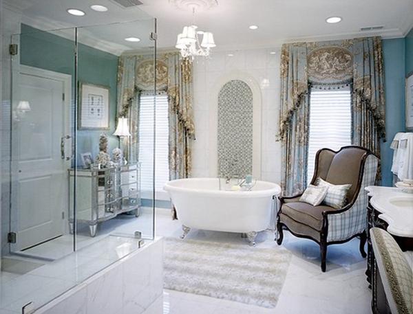 Классическая мебель в ванной комнате - 3