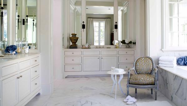 Классическая мебель в ванной комнате - 5