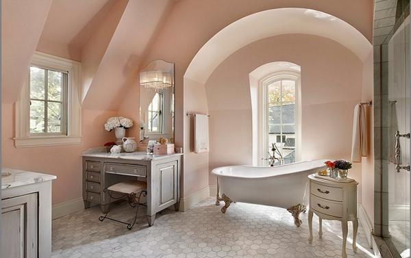 Мебель для ванной в стиле классика - 2