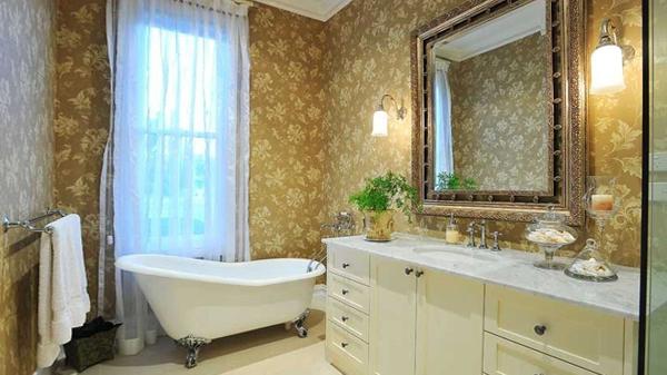 Мебель для ванной в стиле классика - 3
