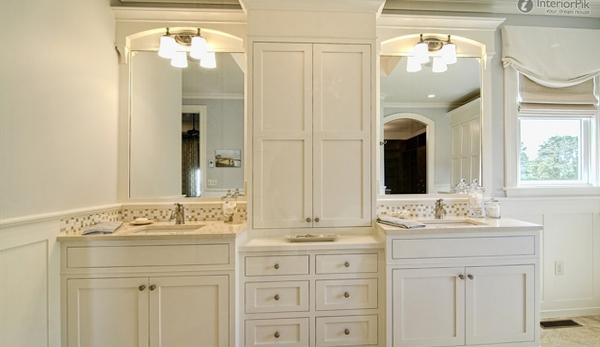 Мебель для ванной в стиле классика - 5