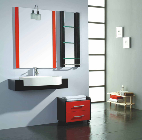 Metal bathroom furniture - 2