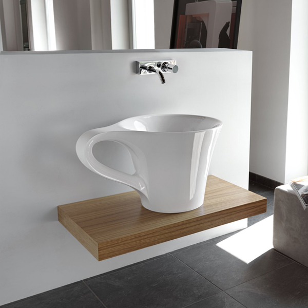 Обычная раковина для ванной - 1