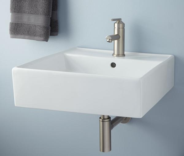 Обычная раковина для ванной - 4