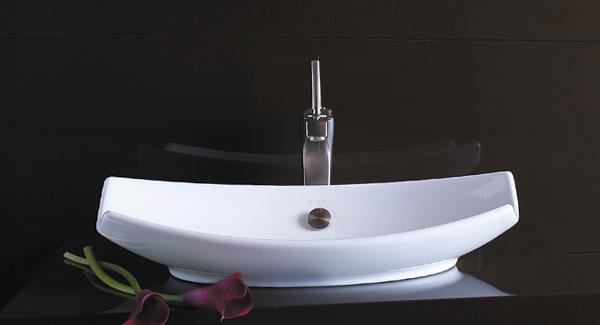 Обычная раковина для ванной - 5