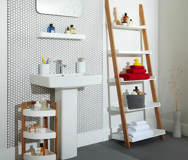 Подвесные шкафчики и навесные полки для ванной - 1